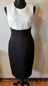 Calvin Klein Color Block Sheath Dress Size 6